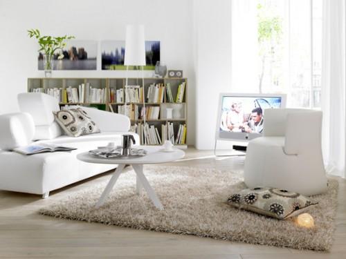 sch ner wohnen teppich hochflor shaggy feeling teppiche. Black Bedroom Furniture Sets. Home Design Ideas