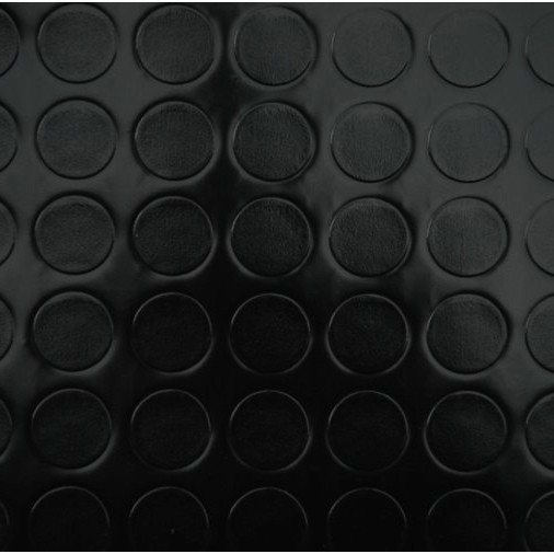 pvc boden tarkett retro noppe schwarz 2m 5 95 eur 1m ebay. Black Bedroom Furniture Sets. Home Design Ideas