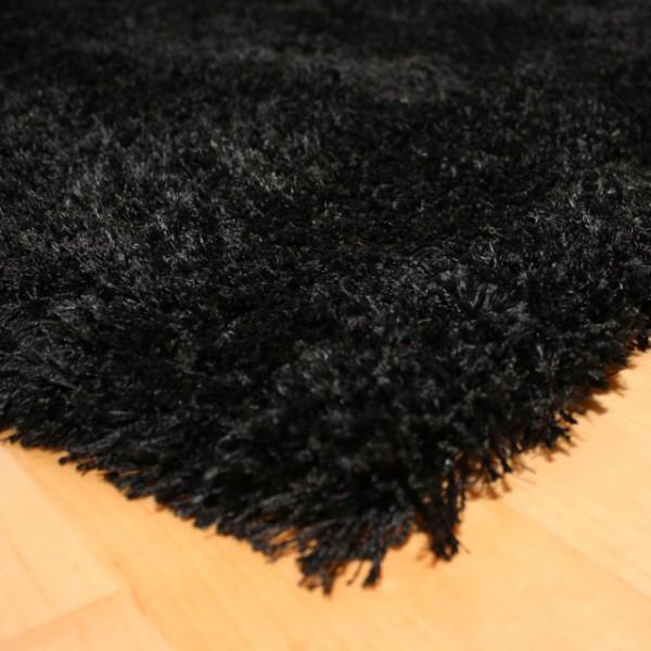 shaggy teppich empire schwarz 78 25 eur m ebay. Black Bedroom Furniture Sets. Home Design Ideas