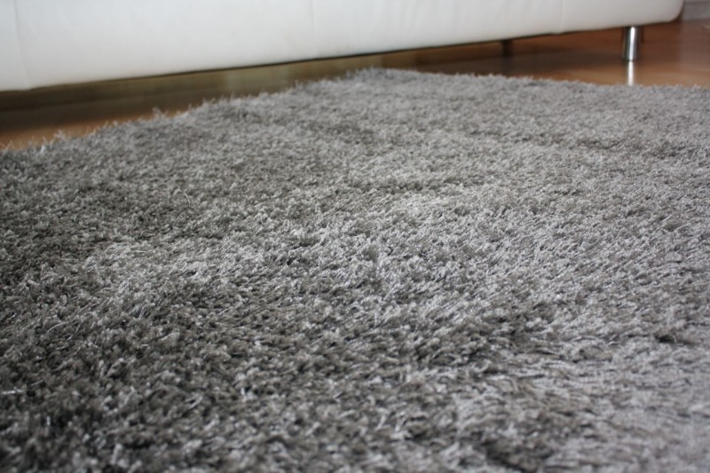shaggy teppich cosy grau teppiche shaggy teppiche. Black Bedroom Furniture Sets. Home Design Ideas