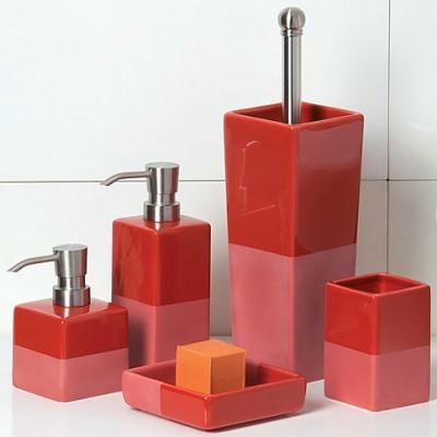 badezimmer set rot bestseller shop f r m bel und einrichtungen. Black Bedroom Furniture Sets. Home Design Ideas