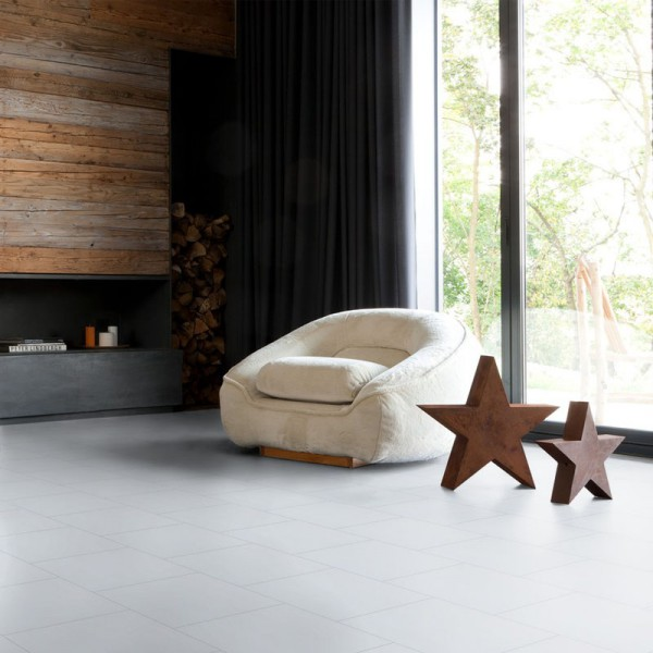 gerflor vinyl fliese design 0224 white tile 1m bodenbel ge vinyl fliesen. Black Bedroom Furniture Sets. Home Design Ideas