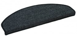 Sisal Salvador Stufenmatte 25x65 cm Farbe: Anthrazit 40