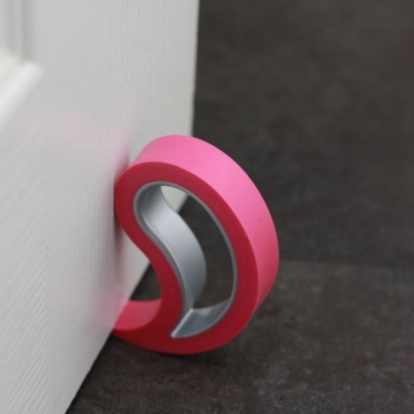 Türstopper Fensterstopper Stoppi Pink