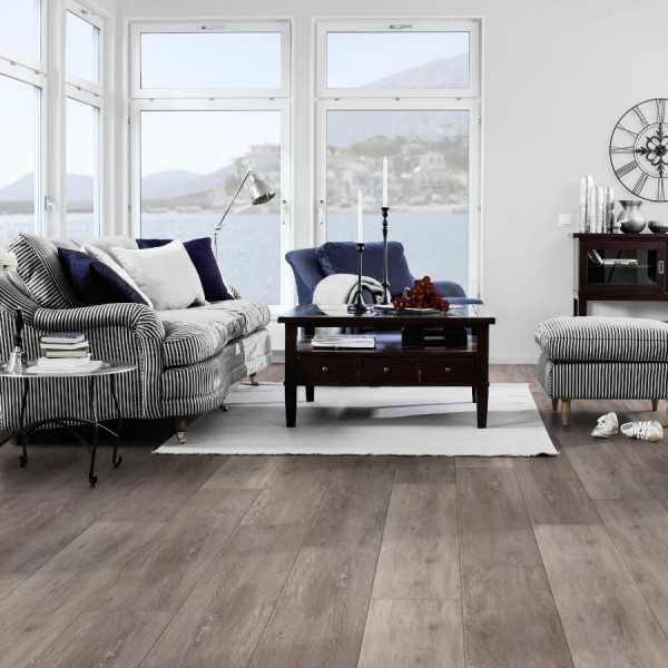 Klick Vinyl Tarkett Starfloor Click 50 | Cerused Oak-Light Brown 1,708 m² Bild 1