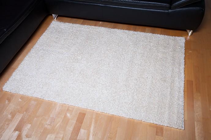 Shaggy Hochflor Teppich Astra Ibiza Braun 120×170 cm
