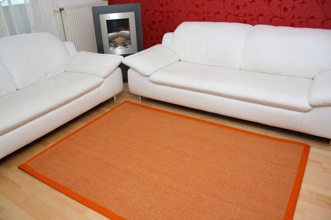 sisal teppich mit bord re in vielen farben gr en livingfloor. Black Bedroom Furniture Sets. Home Design Ideas