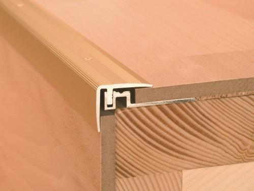 treppenkanten f r treppenstufen livingfloor. Black Bedroom Furniture Sets. Home Design Ideas