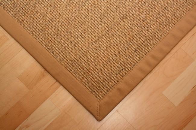 sisal teppich manaus mit fleckschutz natur meliert mit stoffbord re 006 teppiche sisal. Black Bedroom Furniture Sets. Home Design Ideas