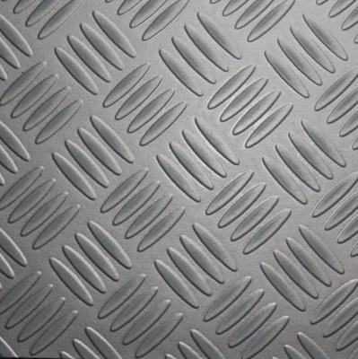 pvc bodenbelag tarkett design 260 riffelblech metallica 3m bodenbel ge pvc belag 3 00 m rollenbreite. Black Bedroom Furniture Sets. Home Design Ideas