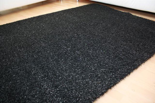 rasenteppich hochflor color grass 681 anthrazit 4m bodenbel ge kunstrasen m rollenbreite. Black Bedroom Furniture Sets. Home Design Ideas