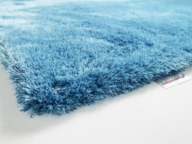 shaggy teppich colourcourage by contzen estero blau 250x300 cm teppiche designer teppiche. Black Bedroom Furniture Sets. Home Design Ideas