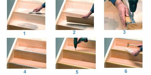prinz aluminium treppenkantenprofil ps 400 38x32 mm 422 bodenbel ge verlegezubeh r treppenkanten. Black Bedroom Furniture Sets. Home Design Ideas