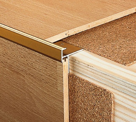 prinz alumininum treppenkantenprofil 9 10 mm 274 bodenbel ge verlegezubeh r treppenkanten. Black Bedroom Furniture Sets. Home Design Ideas